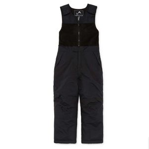 Vertical 9 Black Heavyweight Snow Bibs/Pants 6-7